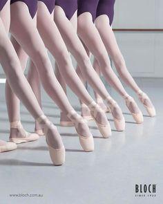 Beautiful ballet feet