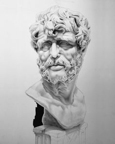 Seneca | Work in progress 2  Religion is regarded by the common people as true by the wise as false and by the rulers as useful. Lucius Annaeus Seneca  #seneca #stoicism #deepthinkdaily #deepthinking #quotes #quote #stoic #philosophy #artwork #monochrome #creativeuprising #artist #art #realism #drawing #bnw_society #bw_lover #monoart #noir #artcollector #artcollection #blackandwhite #instaart #arte #arts #bnw #castdrawing #worldofpencils