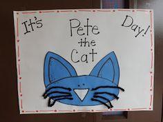 Mrs. Vento's Kindergarten: Pete the Cat Day