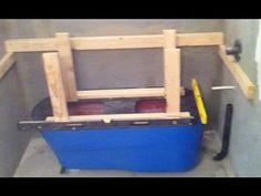 ▶ Making a Concrete Bath Tub Part 1- Setup - YouTube