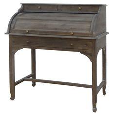 """Belmont Bureau Desk   Acacia  40"""" W x 20"""" D x 45"""" H  Finish/Color(s): Toffee"""