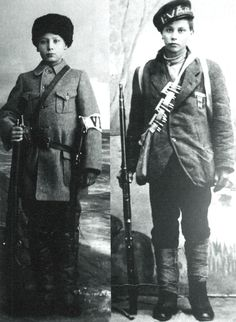 Two child soldiers who fought and died on opposing sides in the Finnish Civil War, Finland [[MORE]] On the left is Onni Kokko, age He served in the White Guards. He fought in several battles. Finnish Civil War, Russian Revolution 1917, American Children, Second Child, World War I, Civilization, Helsinki, Wwii, Finland