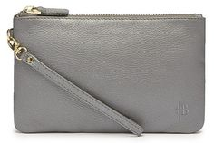 Shimmer Grey Chargeable Mighty Purse Wristlet. Can be Personalized! $89.99
