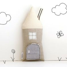 I do love a bit of multifunctionality and this keepsake Tooth Fairy cottage cushion is genius! What a way to get your child even more excited about the tooth fairy!  Open the tiny secret door to this tooth fairy cottage and you will find the tiniest of pockets for the tiniest of teeth. Find out more over on the blog: http://kidsroomstylefile.com/2014/06/11/tooth-fairy-cottage-keepsake-cushion/ #KidsDecor #Cushion