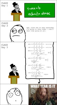 Whenever I Skip My Math Class! - Posted in Funny, Troll comics and LOL Images - Mix Pics