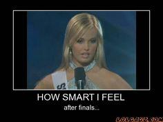 How Smart I Feel...
