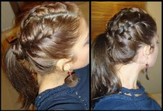 kind of a tutorial similar to how to do that awesome triple french braid
