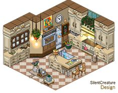 Pet store by LaSilentCreature on DeviantArt Isometric Drawing, Isometric Design, Habbo Hotel, Pixel Art Background, Modern Apartment Design, Pix Art, Minecraft Architecture, Study Rooms, Environment Concept