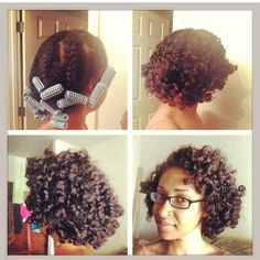 how she does her beautiful braid out!