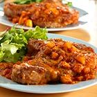 Combine sweet brown sugar and spicy picante sauce make to make these delicious, zesty pork chops. Perfect for a special weeknight dinner with family!