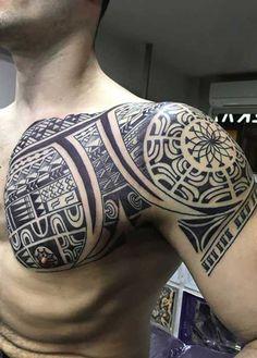 erkek omuz dövmeleri man shoulder tattoos 2