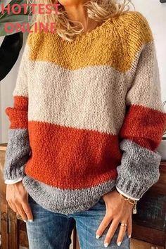 Fall Sweaters, Casual Sweaters, Cute Sweaters, Long Sweaters, Sweaters For Women, Knit Sweaters, Womens Knit Sweater, Oversized Sweaters, Ribbed Sweater