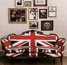 Union Jack Style Anyone? It can be found in Homes as well as ...