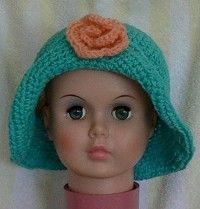 Free crochet pattern for a child's floppy hat  http://www.headhuggers.org/patterns/childpatt06.htm