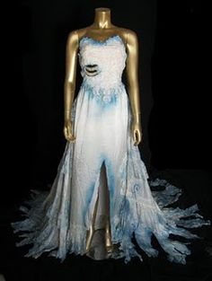 Reconstructed Corpse Bride Costume