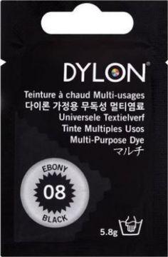 Teinture multi-usages Dylon noir N°8 (= CAPSULE)