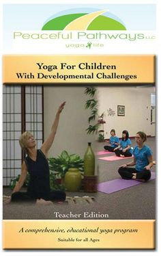 Yoga for special needs. I teach a few classes a week with students like this. It's amazing :)
