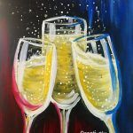 Paintings – 2 Hour   Creatively Uncorked Painting Parties, Easy Canvas Painting, Watercolor Ideas, Beginner Painting, Paint Party, Canvases, Alcoholic Drinks, Paintings, Wine