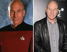 Star Trek Cast – Then and Now