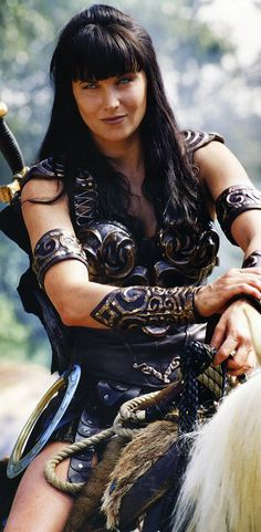 Xena: Warrior Princess. Watched this all the time during the 90s. Lucy Lawless was such a babe!