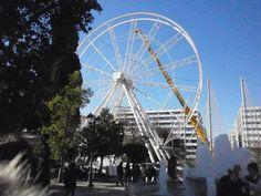 Φωτογραφία Ferris Wheel, Fair Grounds, Travel, Viajes, Trips, Traveling, Tourism, Big Wheel, Vacations