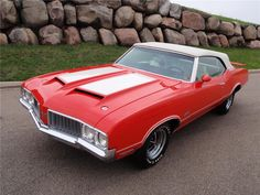 1970 Oldsmobile 442 Convertible #classiccars #cars #oldsmobile #convertible