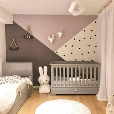 50 kreative Babyzimmer: Heimwerken - Gesunder Lebensstil - FeltTails Baby Nursery Decor and Craft Tutorials - Pin