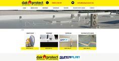 Website voor dakbescherming #Website #Webdesign #dakprotect