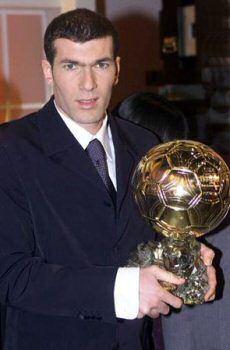 Zinedine Zidane Ballon d'or