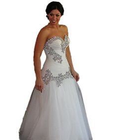 CoCoGirls Gorgeous Crystal Wedding Dress Sweetheart A Lin... https://www.amazon.com/dp/B01ANWK5X6/ref=cm_sw_r_pi_dp_x_gW44xbS4QBGV1