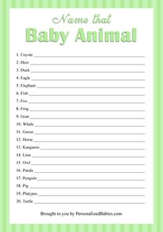 Baby Shower Betting Pool Template Free Http Www