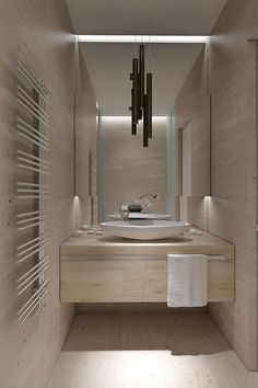 Living in DesignLand: INTERIOR: BAÑO EN TRAVERTINO