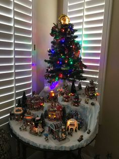 Best Of Christmas House Decorations Indoor . Best Of Christmas House Decorations Indoor . Christmas Village Displayed On Shelves On A Ladder Christmas Tree Village, Christmas Town, Christmas Villages, Christmas Crafts, Christmas Mantles, Silver Christmas, Christmas Nativity, Victorian Christmas, Simple Christmas