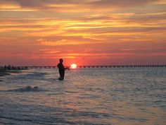 Sunset fishing in Virginia Beach! Photo by: Diane Hotaling. Photo of the Week: http://cbf.typepad.com/chesapeake_bay_foundation/2012/09/photo-of-the-week-a-place-in-time.html