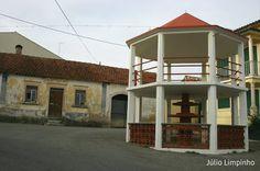 Reanimar os Coretos em Portugal: Porto de Mós - Coreto de Andam - Freguesia do Juncal, Concelho de Porto de Mós, Distrito de Leiria, Fotos: Júlio Limpinho, 19 de Dezembro de 2015.