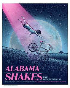 Inspiração, Cartazes de Rock: Alabamas Shakes                                                                                                                                                                                 Mais