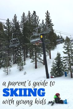 Considering hitting the ski slopes with your toddler or preschooler? Here is what every parent needs to know about skiing with young kids.