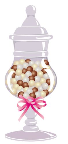 """Photo from album """"Конфеты, шоколад"""" on Yandex. Gelato, Food Clipart, Cake Clipart, Candy Drinks, Cupcakes, Candy Party, Candy Store, Candy Apples, Candyland"""