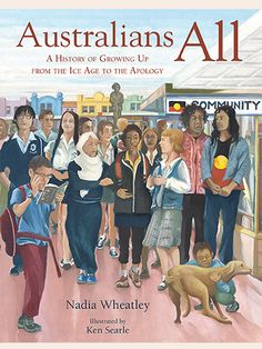 Collection of stories of actual people from Australian history with historical context explained between.