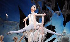 Crystalline glamour … Daria Klimentova in The Snow Queen. Photograph: Tristram Kenton