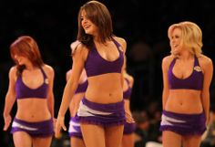 For love of the game, LA Lakers is it Famous Cheerleaders, Panthers Cheerleaders, Lakers Girls, Cute Cheer Pictures, Hollywood Girls, Basketball Legends, Los Angeles Lakers, Pretty Woman, Cheerleading