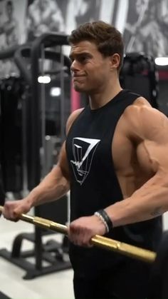 Gym Workout Chart, Full Body Hiit Workout, Workout Routine For Men, Gym Workout Videos, Gym Workout For Beginners, Workout Guide, Fitness Workouts, Weight Training Workouts, Bicep And Tricep Workout