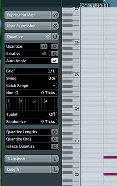 10 MIDI editing tip and tricks in cubase 6