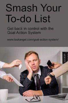 Time Management Tips | Smash your to-do list! Get back in control with the Goal Action System #productivity