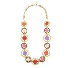 Octagon Long Necklace by Kate Spade