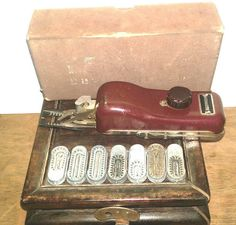 Vintage Kenmore Buttonholer with Box #Kenmore