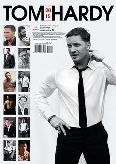 Tom Hardy 2015 Calendar...How did I not know this exists!!!
