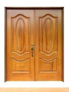 Photo about Nice and perfect wooden door. Image of outside, shut, house - 824340 Doors, Wooden Doors, Door Design Wood, Wooden Door Design, Home Decor, Wooden