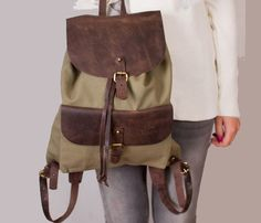 Woody Backpacker by O My Bag