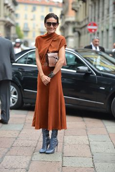 On the streets in Milan #MFW